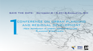 1 Conference on Urban Planning and Regional Development